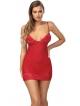 anais vanessa czerwona seksowna koszulka damska czerwona na ramiączkach pełna seksapilu