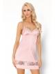 Koszulka nocna szlafrok i strinki trzyczęściowy komplet bielizny damskiej  LivCo CorsettiDeliam