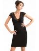 donna bielizna damska koronkowa koszulka damska czarna koronkowe ramiona i dekolt długa do połowy uda