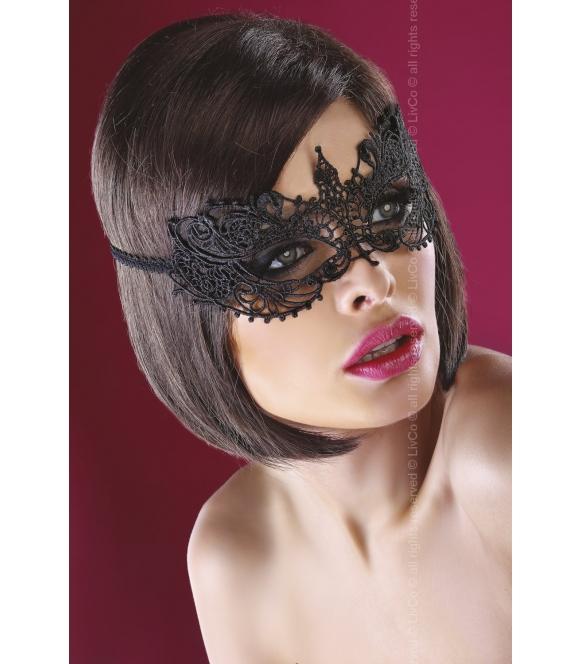 Maska Mask Black Model 12 Kocie oczy