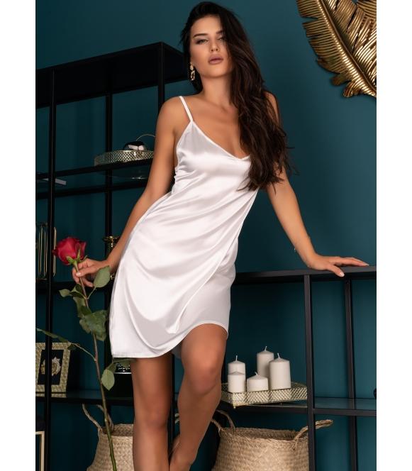 mirdama satynowy komplet bielizny damskiej koszulka nocna i stringi zmysłowy i elegancki livco corsetti