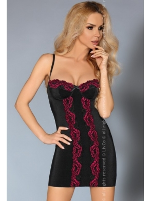 komplet bielizny roanna koszulka nocna i stringi damskie livco corsetti
