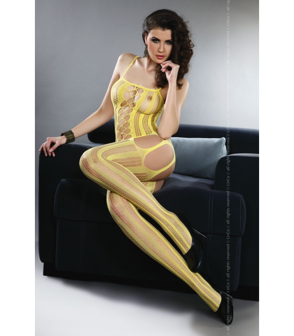 Bodystocking Almas yellow