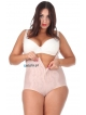 Body modelujące brzuch wyszczuplające korygujące SIZE PLUS regulacja, cieliste duże rozmiary push up