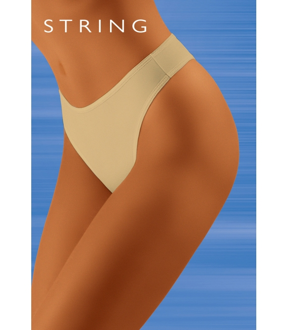 Stringi Tahoo String Beżowe