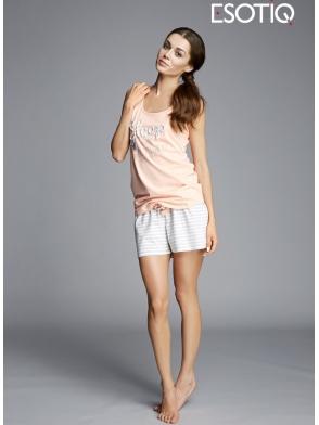bawełniana piżama damska Esotiq Karla 33015 -32X 33018 -09X
