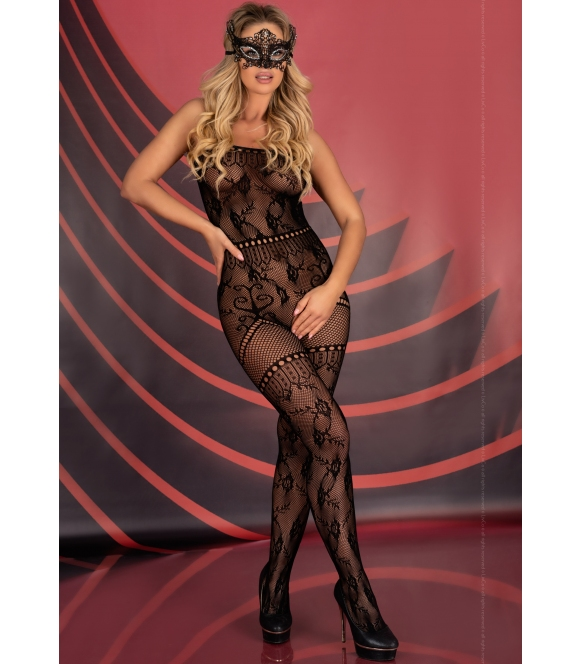 carissm czarne otwarte bodystocking ażurowe czarne prześwitujące livco corsetti