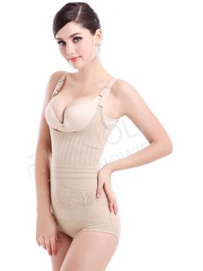 Body wyszczuplające OPTMIAL wzory bielizna wyszczuplająca z efektem push up podnosi biust