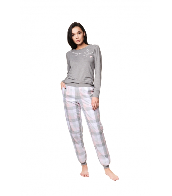 Piżama Zippo 39213-90X Szara