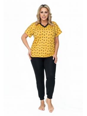 queen piżama damska plus size firmy donna