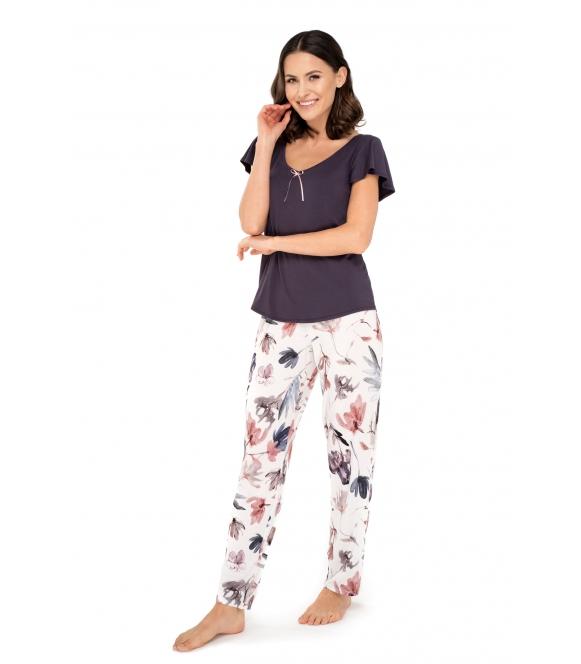 babell missy wiskozowa piżama damska dwuczęściowa