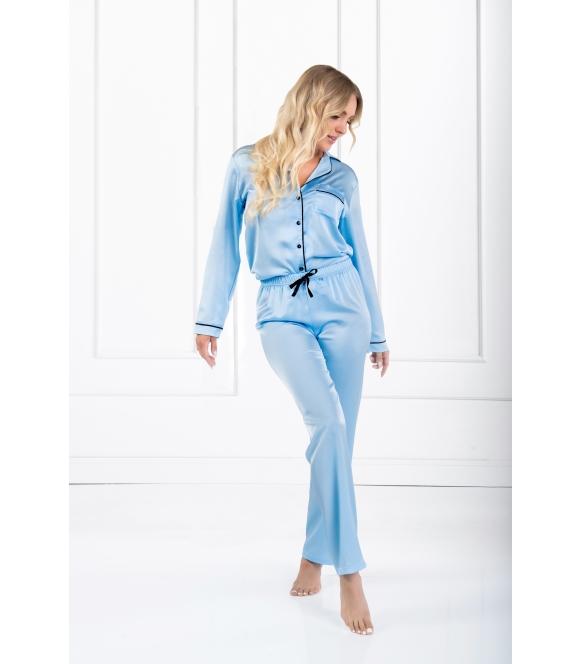Piżama satynowa classic look momenti per me