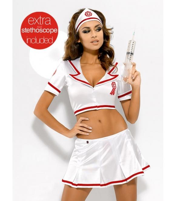 Kostium Emergency Skirty Set + stetoskop