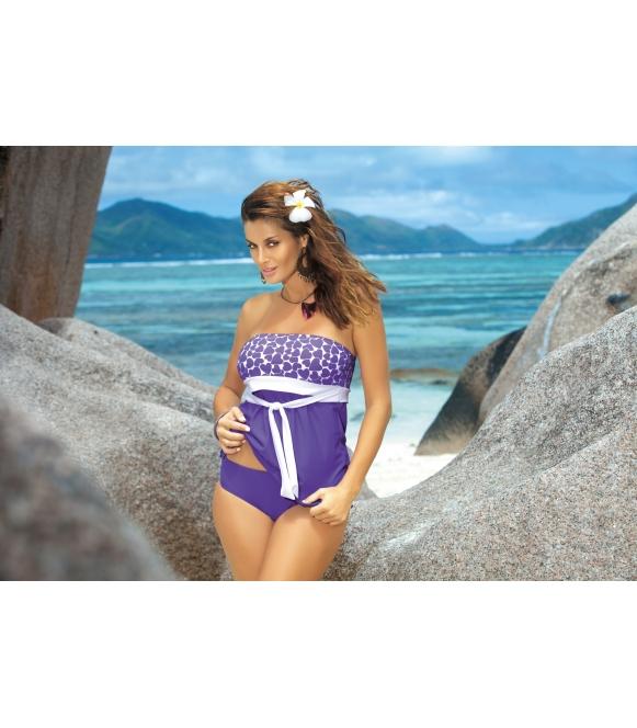 tankini kostium kąpielowy jasnofioletowy marko Julie m-182