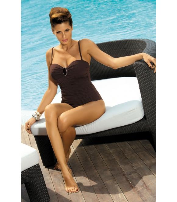 Kostium kąpielowy Melanie Humus M-203 Brązowy (68)