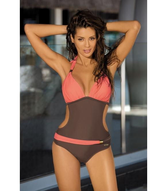 monokini kostium strój kąpielowy jednoczęściowy Beatrix Cubano-Flamingo M-337 (5)