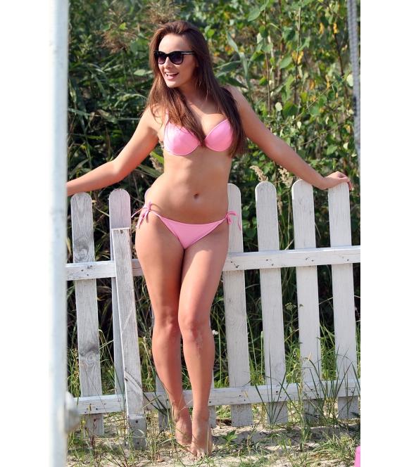 Kostium kąpielowy Cathy M-048 Light Pink (Jasnoróżowy)