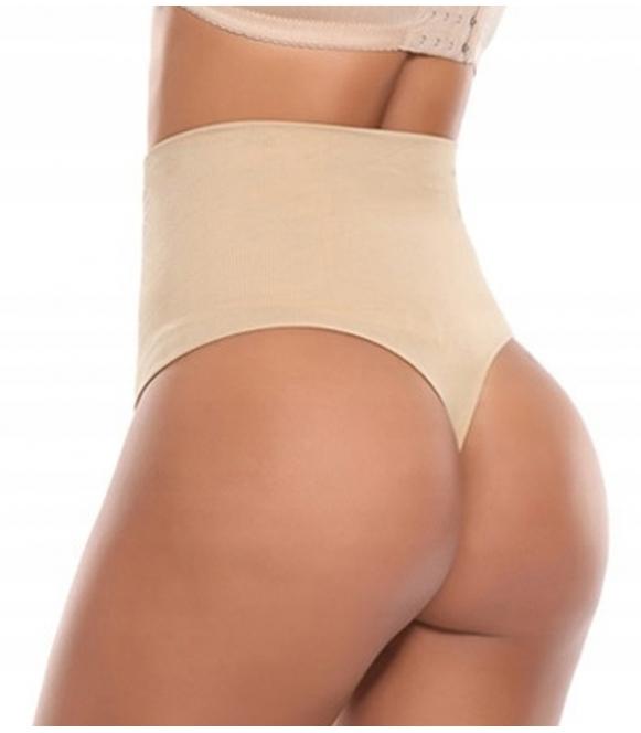 majtki stringi damskie wyszczuplające brzuch poporodowe wysoki stan