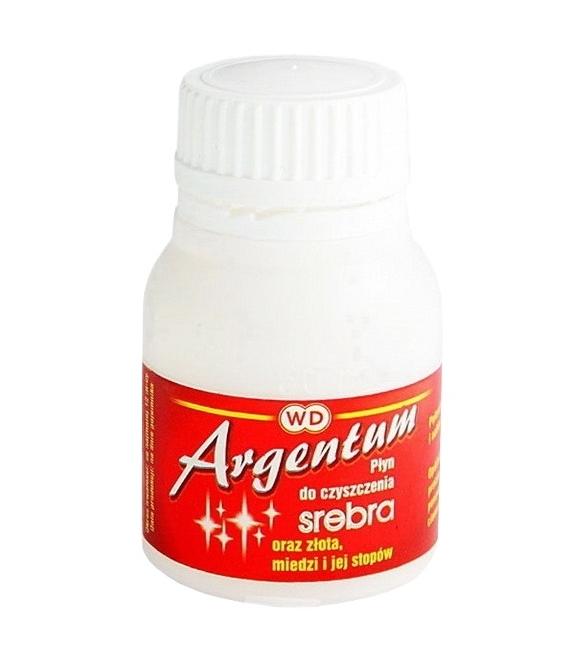 Argentum 70 ml płyn do czyszczenia biżuterii , srebra złota i miedzi