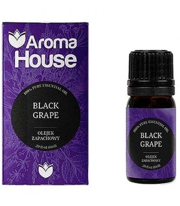 czarne winogrono olejek zapachowy 6 ml o lekko słodkawym bardzo przyjemnym zapachu