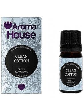 zapach swiezej bawełny olejek zapachowy 6 ml z nutka białych kwiatow i bawelny