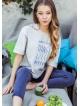 Piżama Kayle LHS 802 A7
