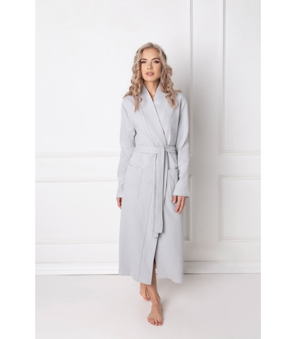 Szlafrok Marshmallow Grey Long