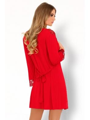 omolarina komplet bielizny z wiskozy szlafrok damski i stringi firmy livco corsetti