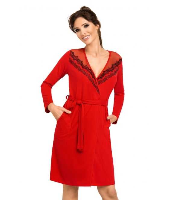 Szlafrok Jasmine Red