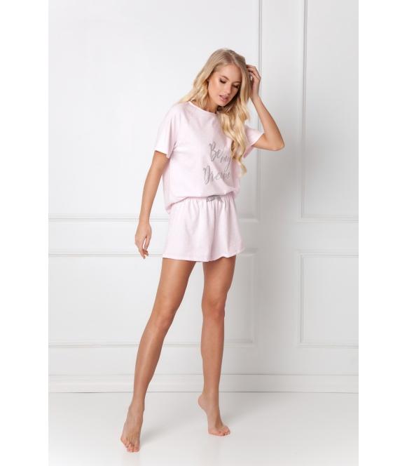 Piżama Donella Short Pink