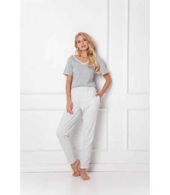 Piżama Gwen Long Grey