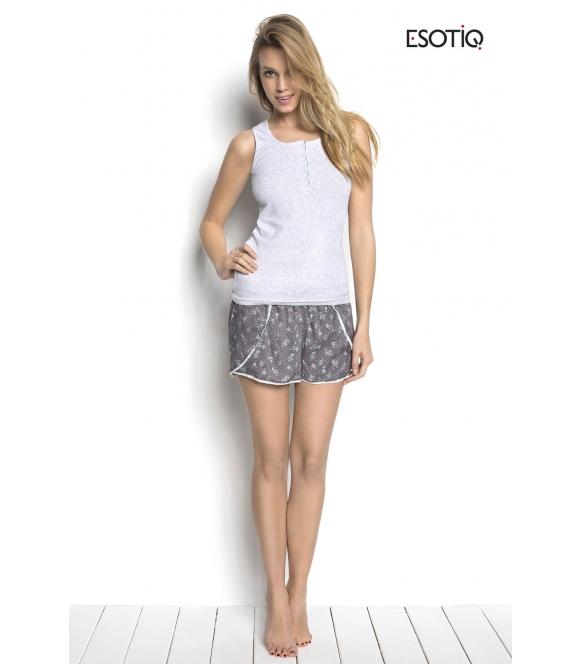 Piżama Sky z shortami 34225-09X, 34228-90X