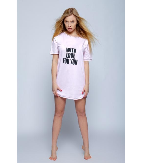 Koszulka City różowa
